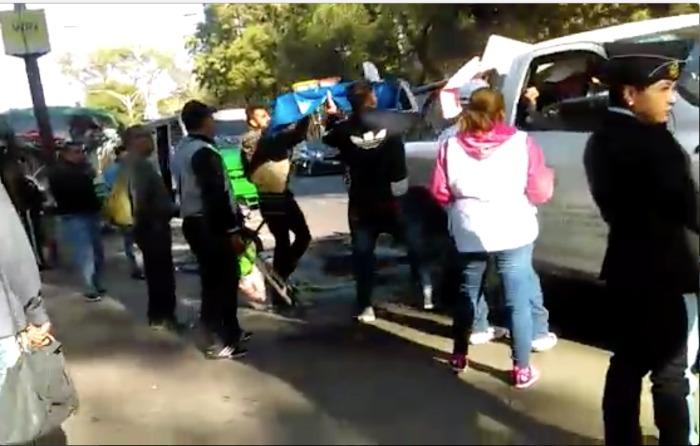Retiran a comerciantes de Chapultepec