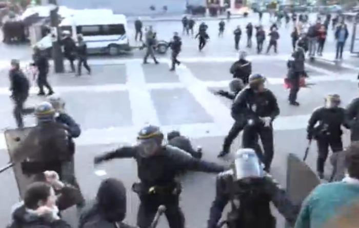 Francia: 29 detenidos tras protesta postelectoral
