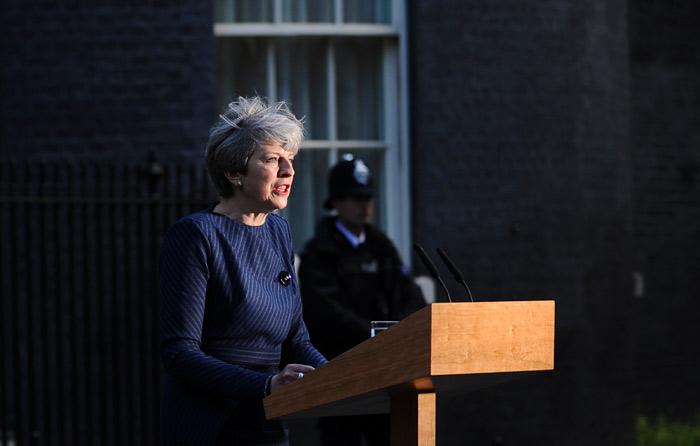 May anuncia elecciones británicas anticipadas