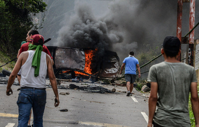 Venezuela: van 30 muertos en 3 semanas