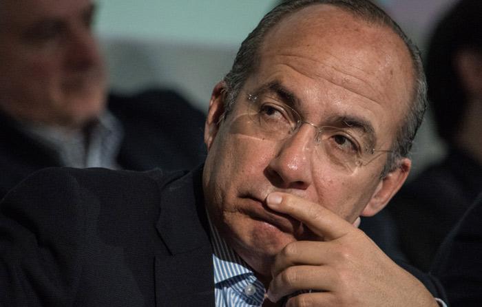 Calderón cancela su conferencia en el Tec de Monterrey