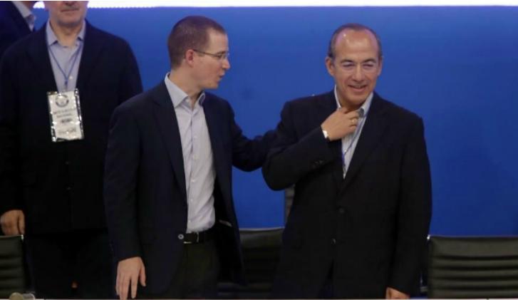 Calderón amenaza con renunciar al PAN