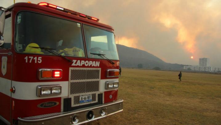Incendio, controlado al 100%: Jalisco