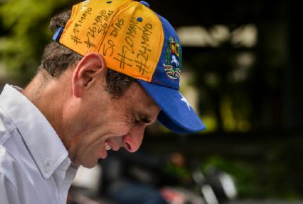 Venezuela: Capriles denuncia agresión militar