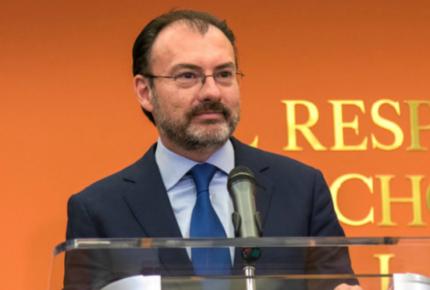 Videgaray se ofrece como mediador en Venezuela