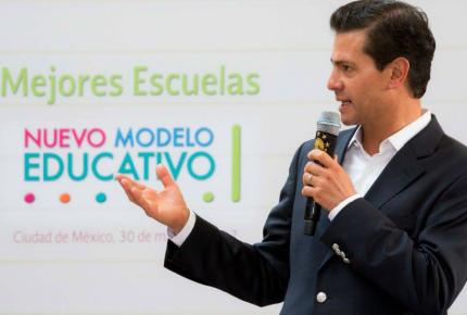EPN insiste en que reforma educativa no está agotada