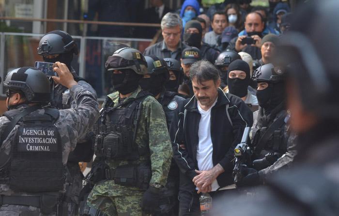 Cae Dámaso López en CDMX; cerraba alianza con CJNG