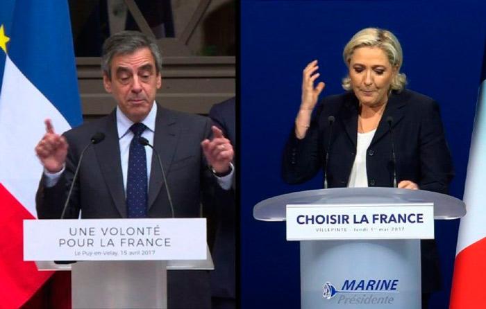 """Le Pen plagió discurso a Fillon; """"fue guiño"""""""