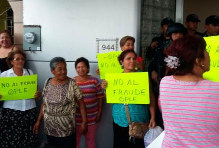Priistas se plantan en Ople Veracruz