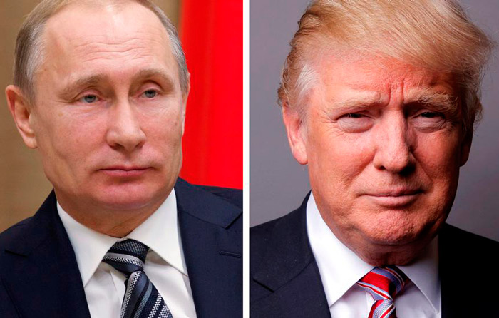 """Trump y Putin """"a favor"""" de reunirse en G20"""