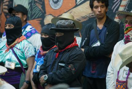 Segundo contingente del EZLN partirá a Europa desde la CDMX