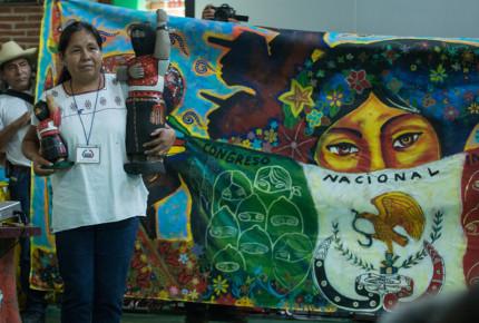 Marichui, la candidata del EZLN rumbo al 2018
