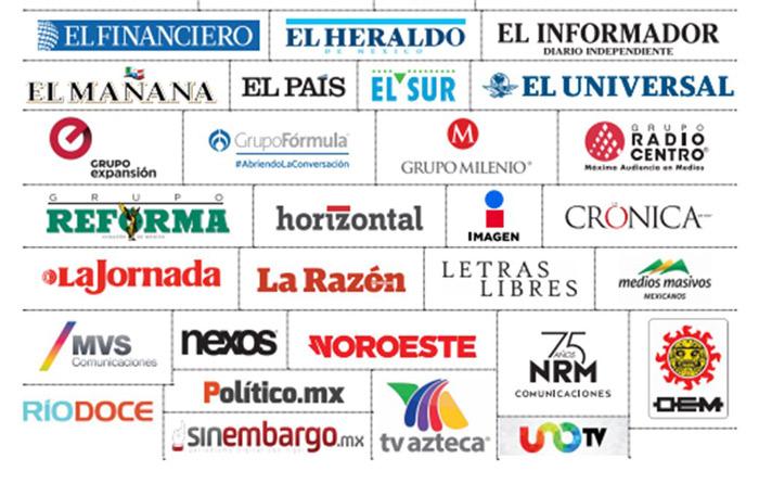 Medios exigen fin a la violencia contra periodistas