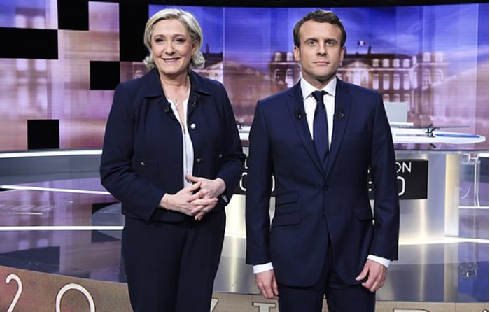 "Macron demanda a Le Pen por ""fake news"""
