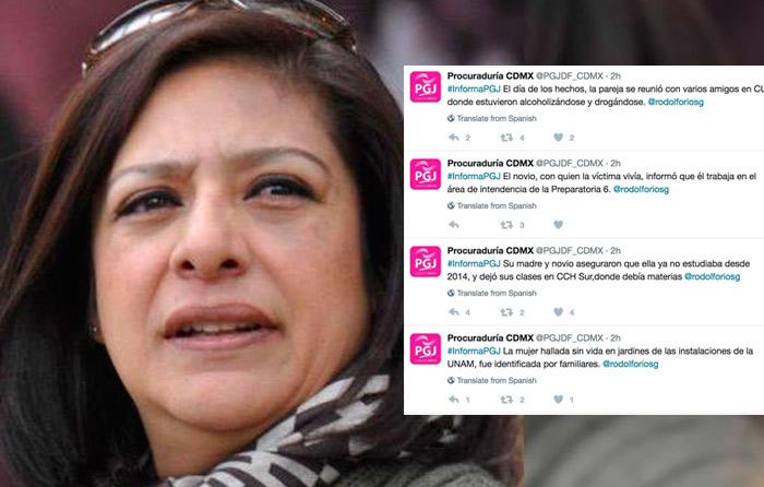 Elena Cárdenas dimite por tuits sobre Lesvy