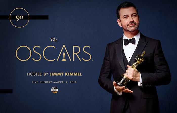 Jimmy Kimmel repite como presentador de los Oscar
