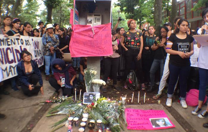 Queja contra PGJ por datos de joven muerta en UNAM