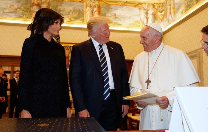Francisco y Trump se reúnen en El Vaticano