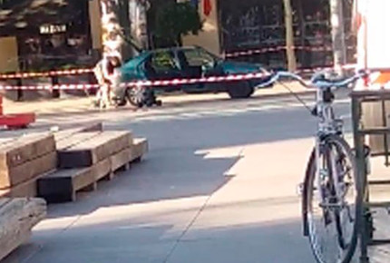 Amenaza bomba en Plaza de la República de París