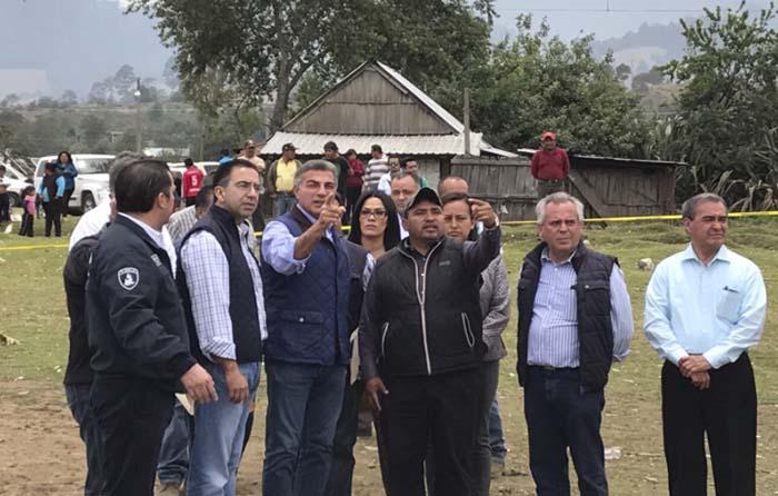 CNDH pide medidas cautelares por hechos en Chilchotla