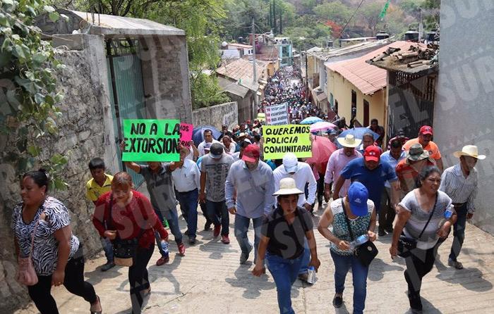 Surge movimiento autodefensa en Tlacotepec
