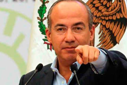 Calderón busca aprobar segunda vuelta; convoca a AMLO
