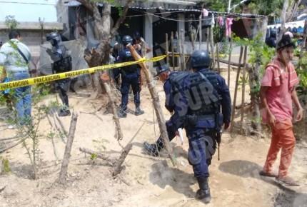 Matan a familia en Cacahauatepec, Gro
