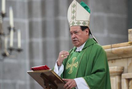 Cardenal Norberto Rivera fue dado de alta del hospital