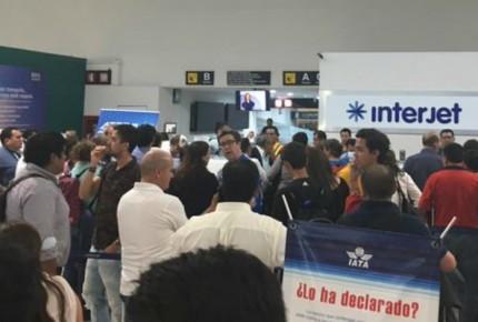 Interjet rechaza pagar por demora de 13 horas en Chiapas