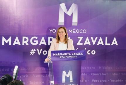 Zavala arranca rumbo a 2018 gira en 45 ciudades
