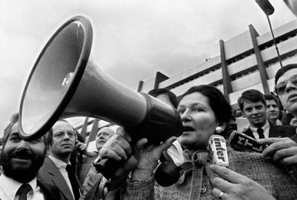 Simone Veil, ícono del feminismo francés