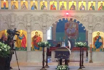 Velan a Chedraoui en catedral ortodoxa de Huixquilucan