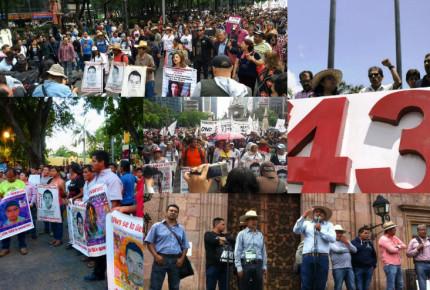 A 33 meses de Ayotzinapa vuelve opresión a normalistas