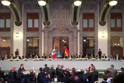 México con motivos para invertir en Europa: Merkel