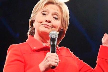 """Clinton ironiza sobre el """"covfefe"""" de Trump"""