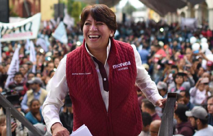 Delfina Gómez arranca gira de agradecimiento