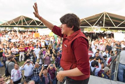 INE perfila sanción contra Morena por gastos de Delfina Gómez