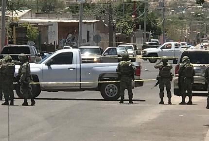 Ministeriales repelen agresión y abaten a 5