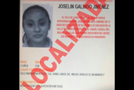Localizan a hija del periodista Víctor Galindo