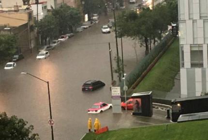 Miguel Hidalgo y Azcapotzalco, las más afectadas por lluvias
