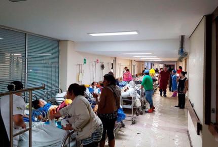 Reubican a pacientes de Hospital La Villa