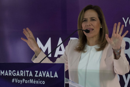 Margarita Zavala abierta a alianzas