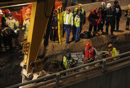 Fallece trabajador por derrumbe en ampliación de L12
