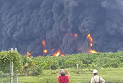 Se registra explosión en refinería de Salina Cruz