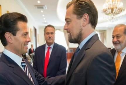 Vaquita marina reúne a EPN, Slim y DiCaprio