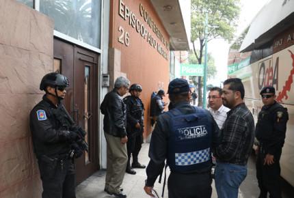 PGR atrae indagatoria por explosión en sede del Episcopado