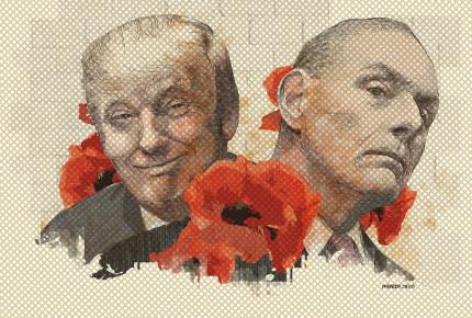 Trump y su muro, Kelly y la amapola