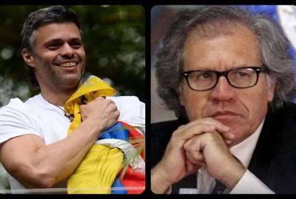 Almagro y López urgen a Maduro cese represión