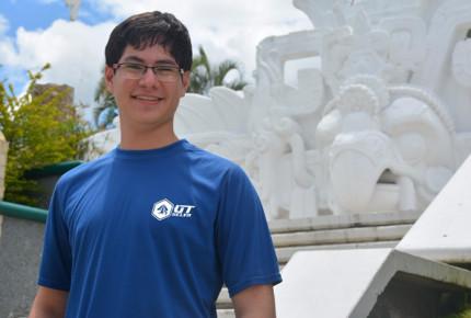 Rubén García, el primer chiapaneco en estudiar en la NASA