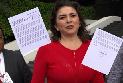 Ortega pide a Ruiz Massieu abrir espacios a la militancia